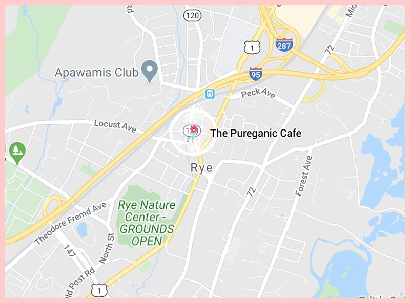 The Pureganic Cafe Map