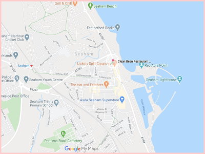 Clean Bean Restaurant Bar Map Gluten Free Traveling Toon