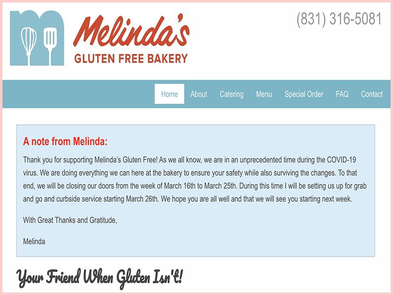 Melinda's Gluten Free Bakery Gluten Free Traveling Toon