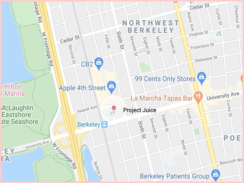 ProjectJuiceMap Gluten Free Traveling Toon