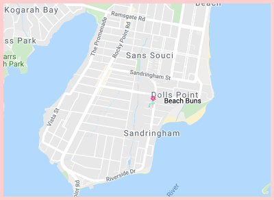 Beach Bun Gluten Free Restaurant Google Map
