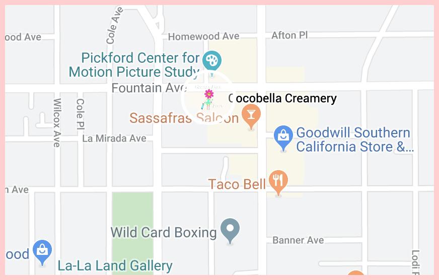 Cocobella Creamery Google Map