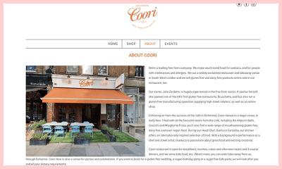 Coori Gluten Free Restaurant