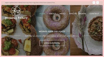 Harmony Bakery Gluten Free