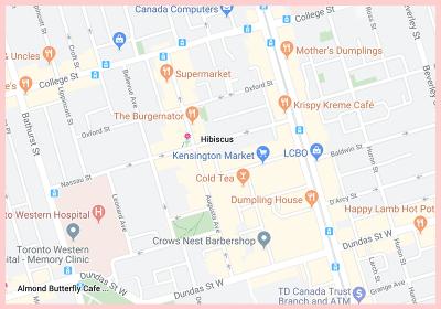 Hibiscus Gluten Free Google map