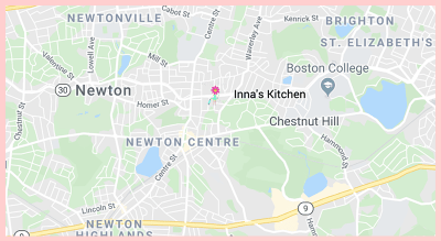 Innas Kitchen Gluten Free Google Map