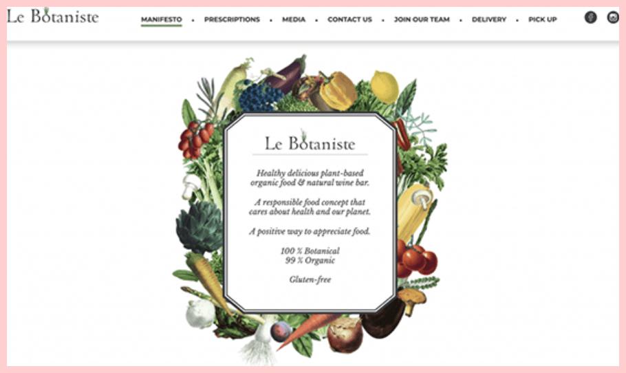 Le Botaniste Gluten Free Restaurant NYC