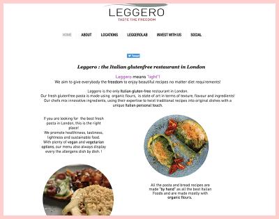 Leggero Gluten Free Restaurant