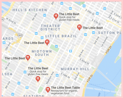 Little Beets Google Map