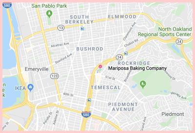 Mariposa Baking Company Gluten Free Google Map