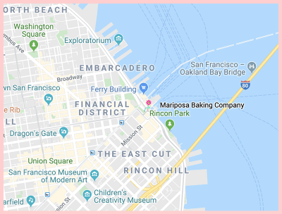 Mariposa Baking Company Gluten Free San Fran Google Map