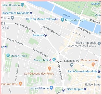 Noglu Gluten Free Google Map