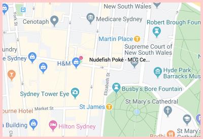 Nudefish Poke - Google Map