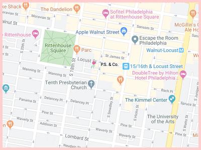 P.S. & Co Gluten Free Google Map