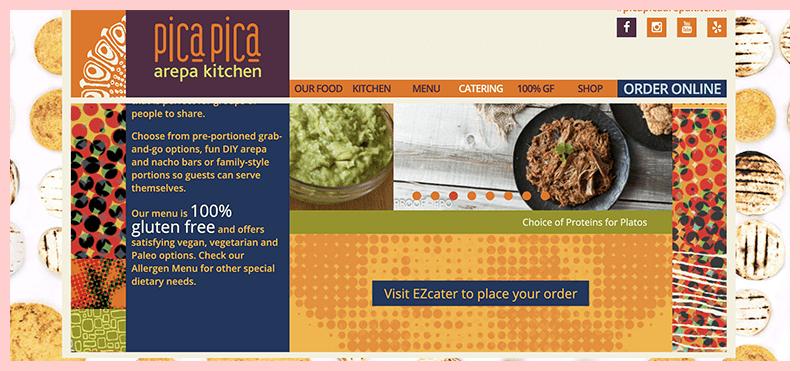 Pica Pica Arepa Kitchen Gluten Free