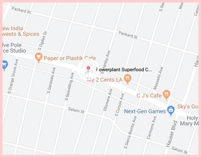 PowerPlant Super Food Cafe Google Map