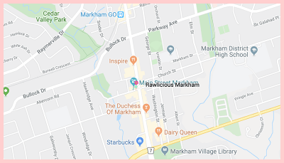Rawlicious Gluten Free Google Map
