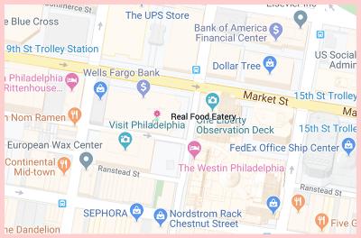 Real Food Gluten Free Google Map1