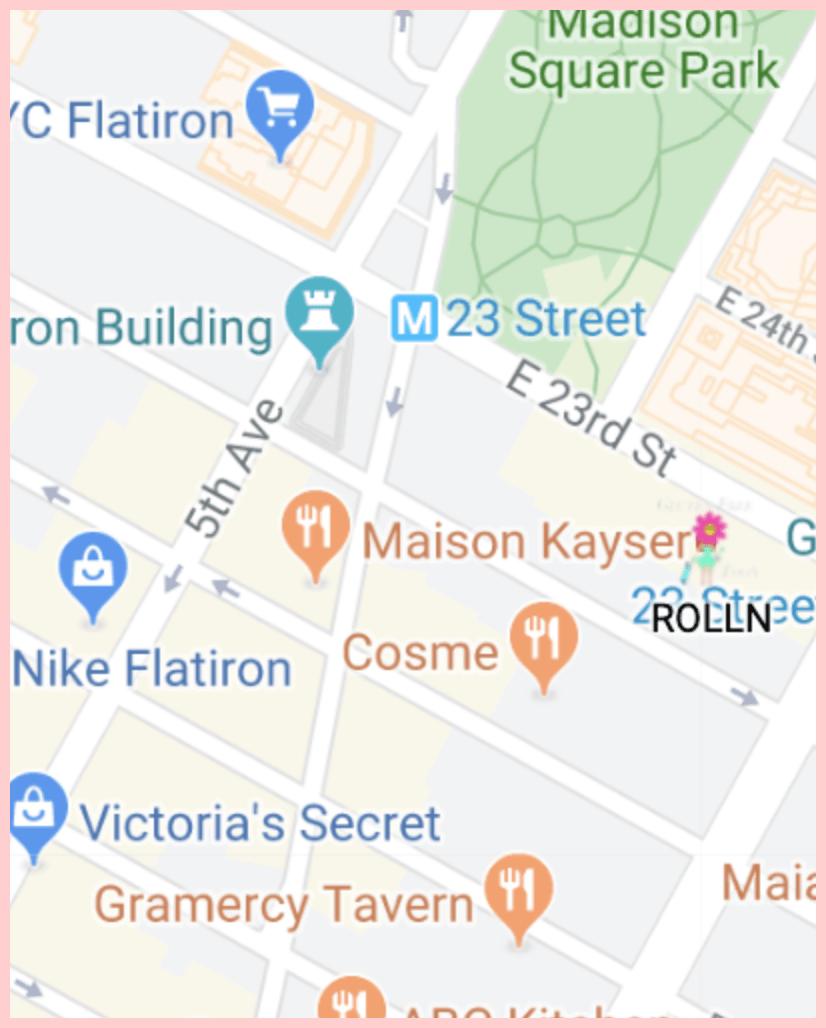 Rolln Gluten Free Map