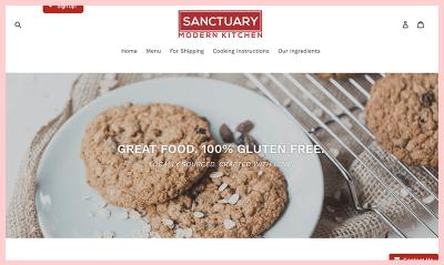 Sanctuary- Modern Kitchen Gluten Free Restaurant Maryland