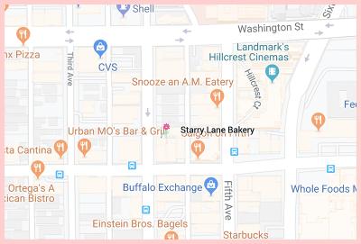 Starrylane Bakery Gluten Free Google Map