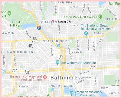 Sweet27 Bakery and Restaurant Gluten Free Google Map