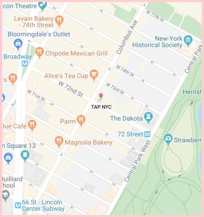 Tap Gluten Free Google Map