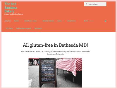 The Red Bandana Bakery Gluten Free