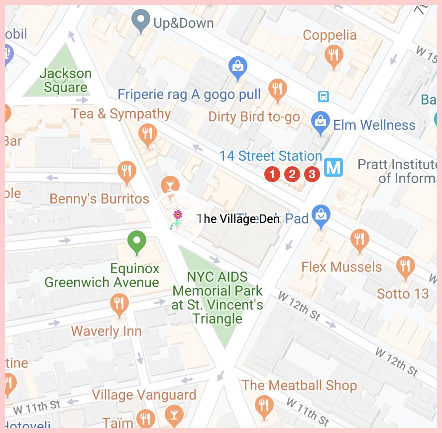 The Village Den Google Map