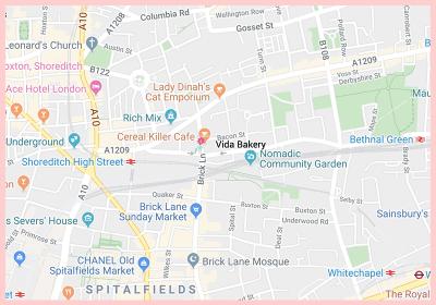 Vida Gluten Free Google Map