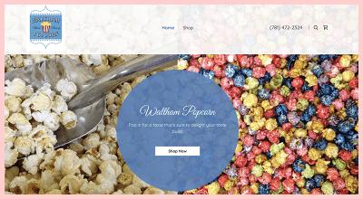 Waltham Popcorn Gluten Free