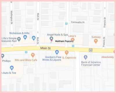 Waltham Popcorn Gluten Free Google Map