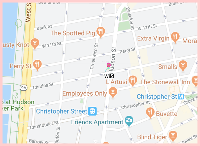 Wild Google Map