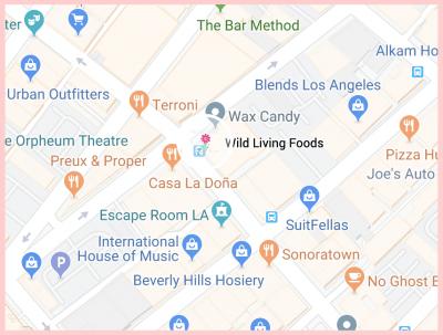 Wild Living Food Google Map