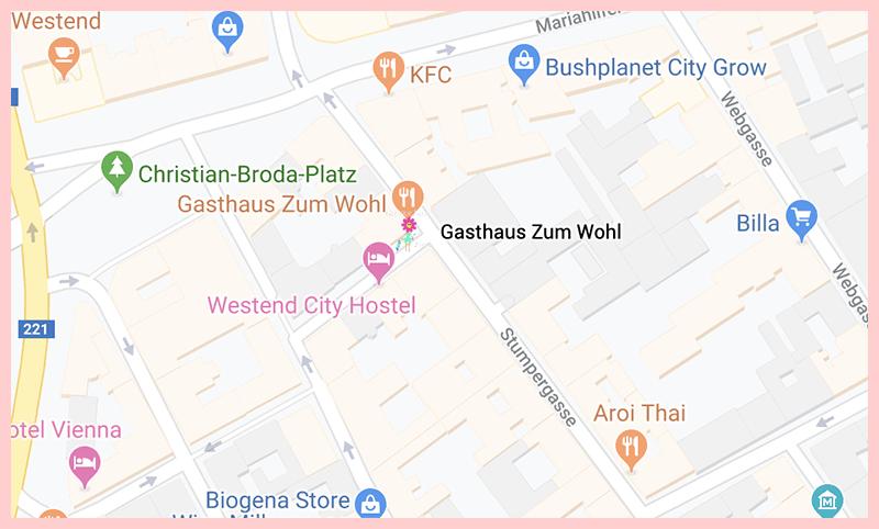 Gasthaus Zum Wohl Google Map