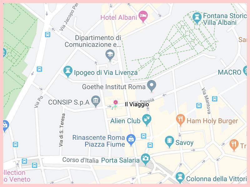 Il Viaggio Google Map
