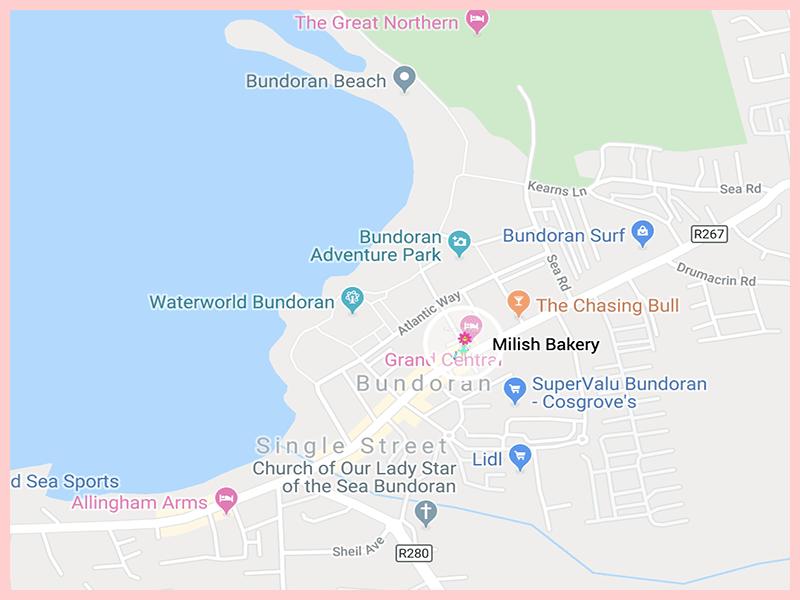 Milish Bakery Google Map