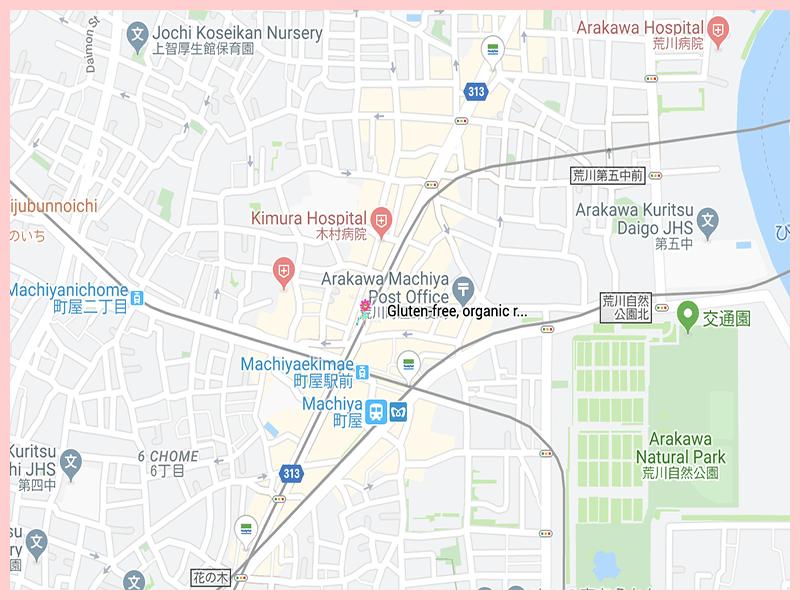 Organicrestaurant Google Map