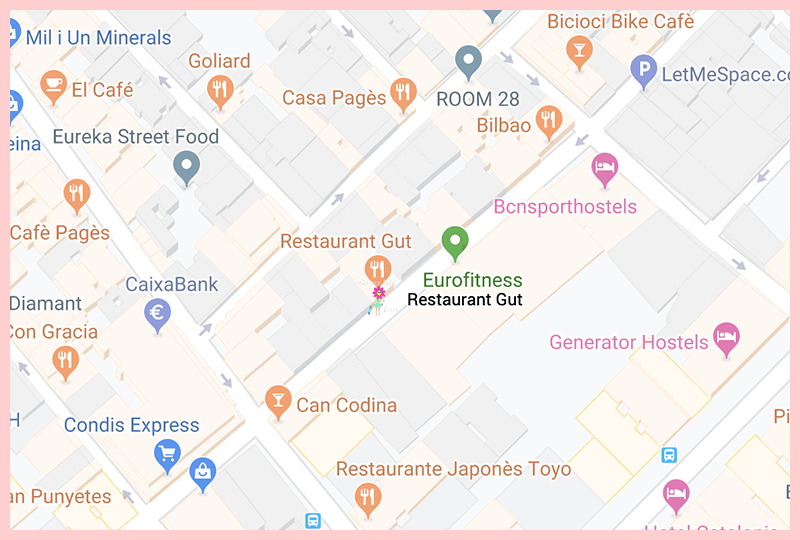 Restaurant Gut Barcelona