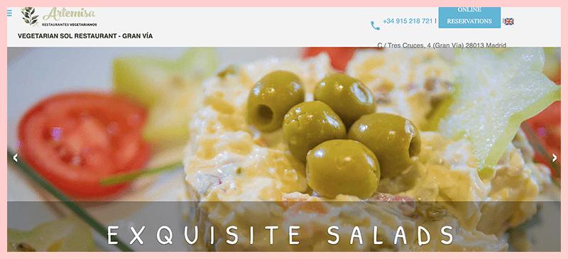 Restaurante Vegetariano Artemisa Sol