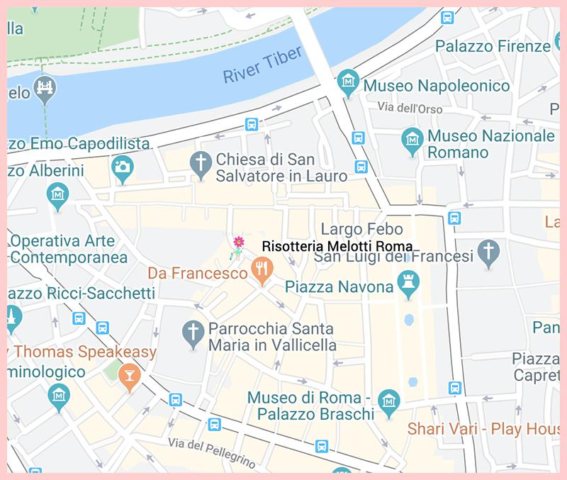 Risotteria Melotti Roma Google Map
