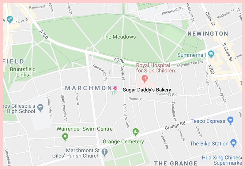 Sugar Daddy Edinburgh Google Map 2