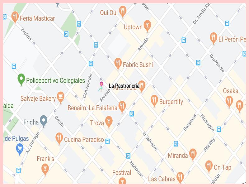 LaPastroneriaGoogleMap