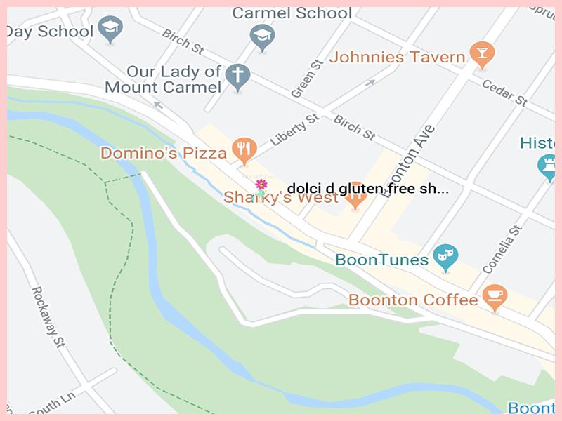 dolci d gluten free shopMap