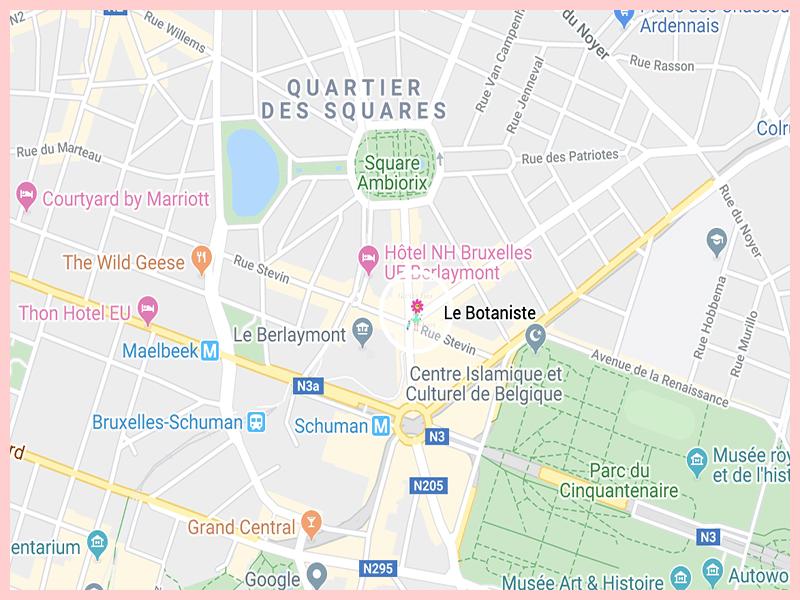 lebotanisteGoogleMap
