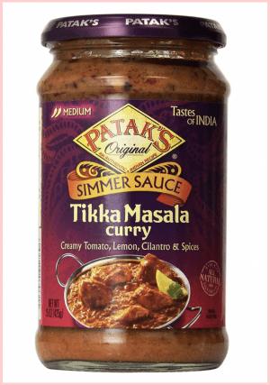 Patak's Tikka Masala Curry Cooking Sauce