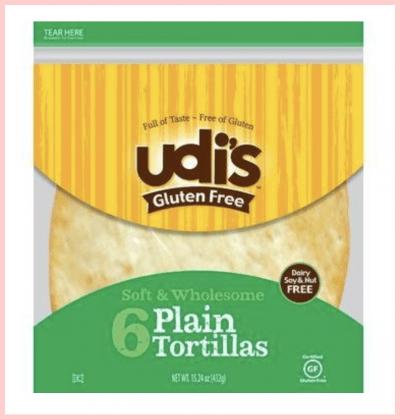 Udi's Gluten Free Large Tortillas