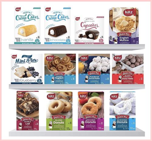 Katz Gluten Free Cakes