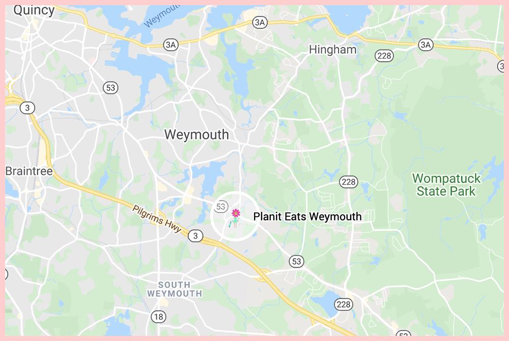 PlanIt Eats Weymouth