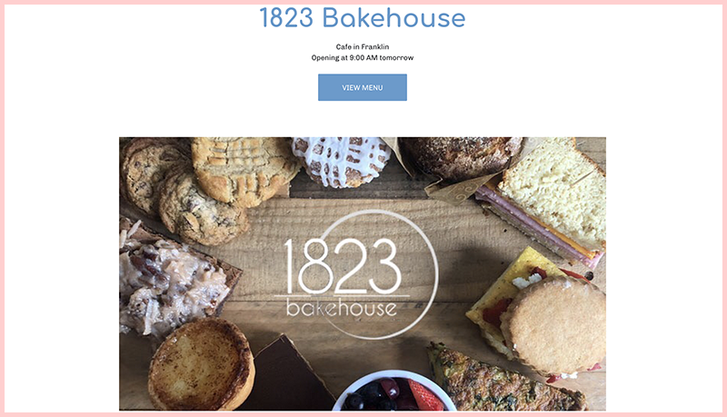 1823 Bakehouse